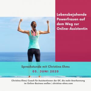 Read more about the article Lebensbejahende Powerfrauen auf dem Weg zur Online-Assistentin
